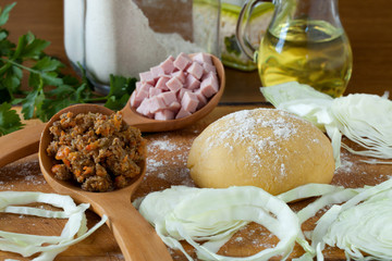 Ingredients For Piedmont Agnolotti