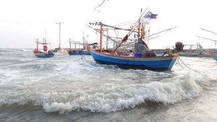 Boat huahin thailand
