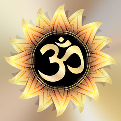 illustration: OM symbol
