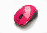 Pink Wireless Mouse