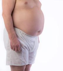 Male Obesity Belly