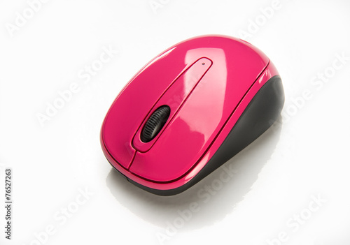 Poster Pink Wireless Mouse