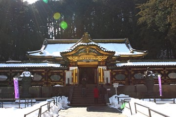 Taiyu-in Temple, part of Rinnouji Temple