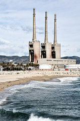 Factory at the Beach