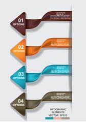 business template graphic design element.infographic illustratio