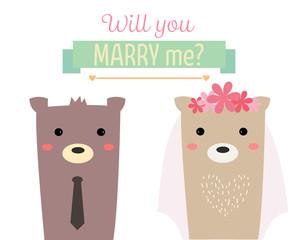 married bear