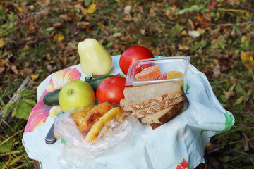 Products for picnic
