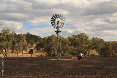 Leinwanddruck Bild Bushfire Aftermath