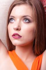 Gorgeous portrait of beautiful girl