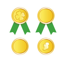 Golden Medal to St. Patrick Day