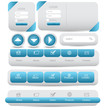 web ui kit menu bar collection