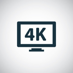 4k tv icons