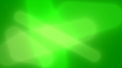 Abstract green animation background.