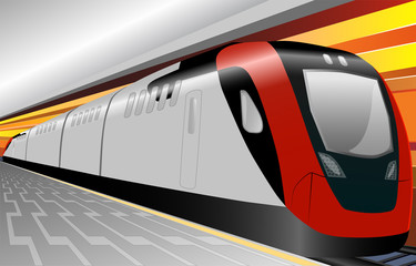 train underground
