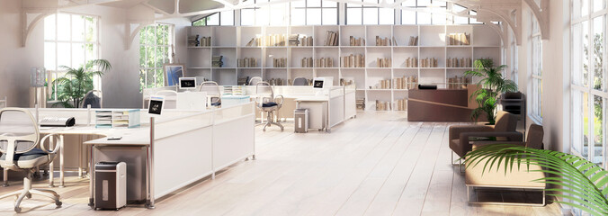 Büroflächen-Adaptation