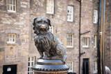 EDINBURGH, SCOTLAND  Bobby a Skye Terrier monument