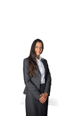 Attractive Indian businesswoman in a formal pose