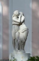 Амур и Психея.Неизвестный скульптор.Италия XVIII век.Мрамор