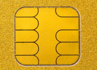 puce électronique de carte bancaire