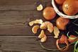pieces of tangerines