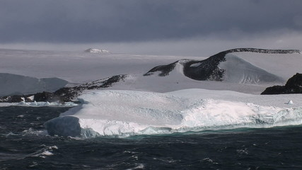 Large Tabular Iceberg in the Wedell Sea Antarctica