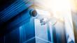 Leinwanddruck Bild - surveillance camera