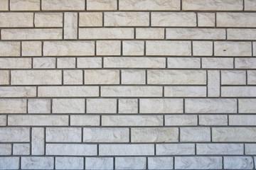 mur blanc structuré