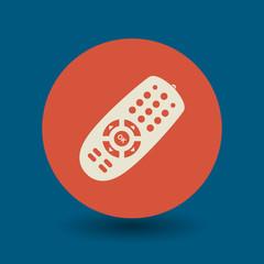 Remote control symbol, vector