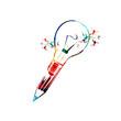 Creative writing concept