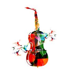 Violoncello and saxophone design