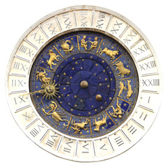 Zodiac clock  in Venice