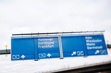 Bundesautobahn 5 highway in Germany