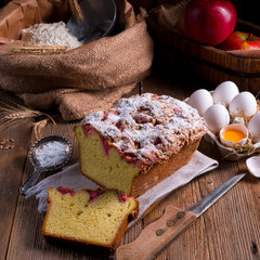 yeast dough cake