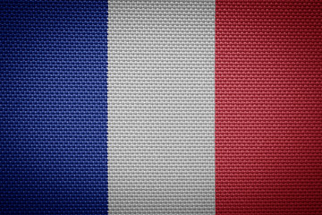 fabric flags of France