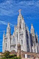 Church of Sacred Heart of Jesus on Mount Tibidabo, Barcelona