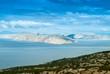 canvas print picture - Kahle Insel in Kroatien