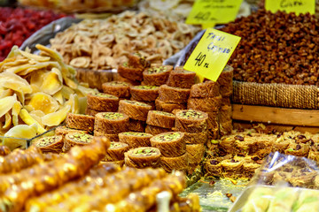 Turkish speciality sweets