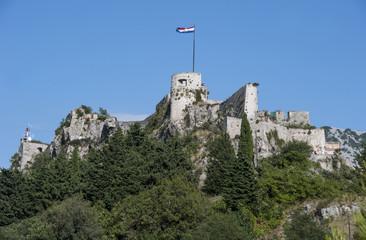 Alte Festung in Klis, Kroatien