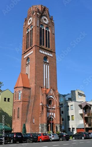 Turm der Lutherkirche in Swinemünde - 76559042