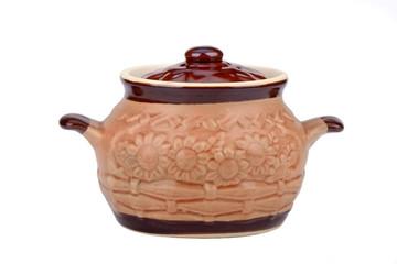 ..the ceramic pot