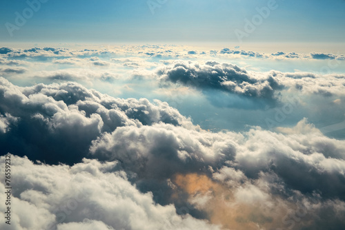 Fotobehang Landschap Cloudscape