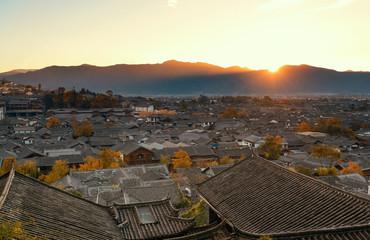 Lijiang old buildings