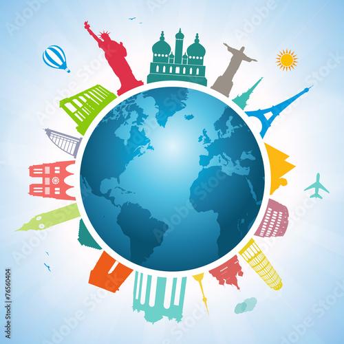 Around the world - 76560404