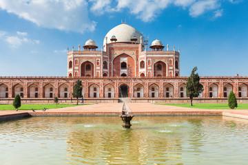 Daytime view of Humayun's Tomb, Delhi, India