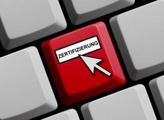 Zertifizierung online