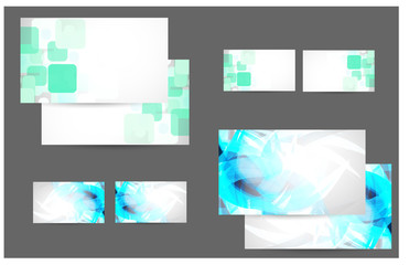 Professional and designer business card.vector.Eps10