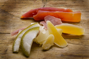 Candied fruit Fruta confitada Frutta candita Kandieren
