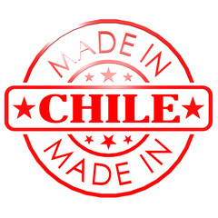 Made in Chile red seal