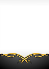 Abstract Background Ornament Gold 1