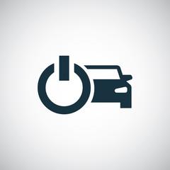 car power icon